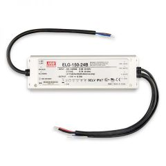 LED Trafo MW ELG-150-24B 24V/DC, 0-150W, 1-10V (60-150W) dimmbar, IP67, SELV