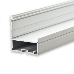 LED Aufbauprofil LAMP35 EDGE Aluminium eloxiert, 200cm