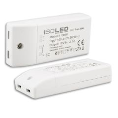 LED Trafo 12V/DC, 0-30W, kompakt, SELV