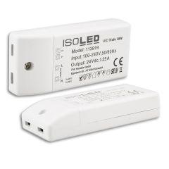LED Trafo 24V/DC, 0-30W, kompakt, SELV