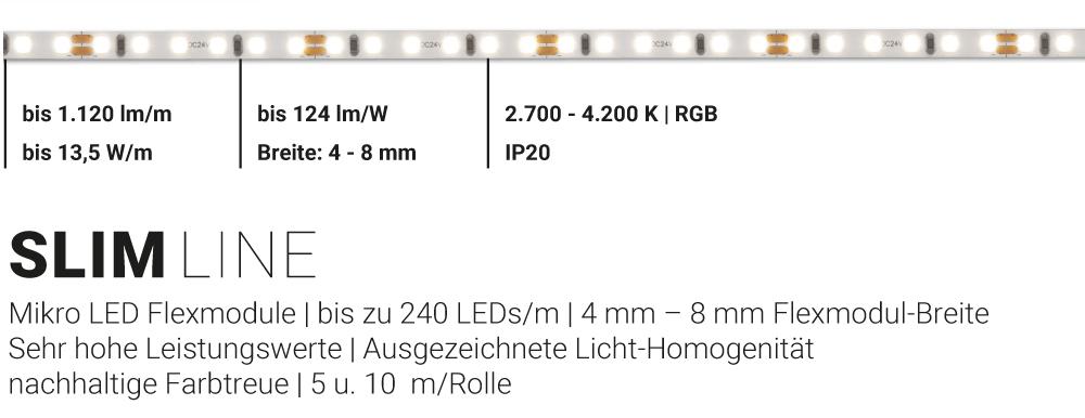 LED Flexmodul SLIM Line