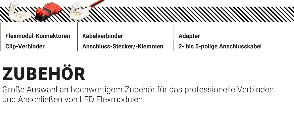 LED Flexmodul Zubehör