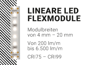 Lineare LED Flexmodule