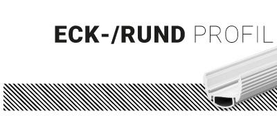 Eck-/Rund Profil,
