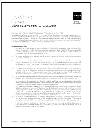 PDF Garantiebestimmungen