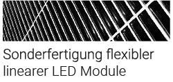 Sonderfertigung flexibler linearer LED Module